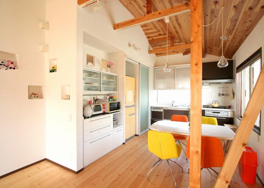 無駄なスペースが生まれないジャストサイズなオーダー家具