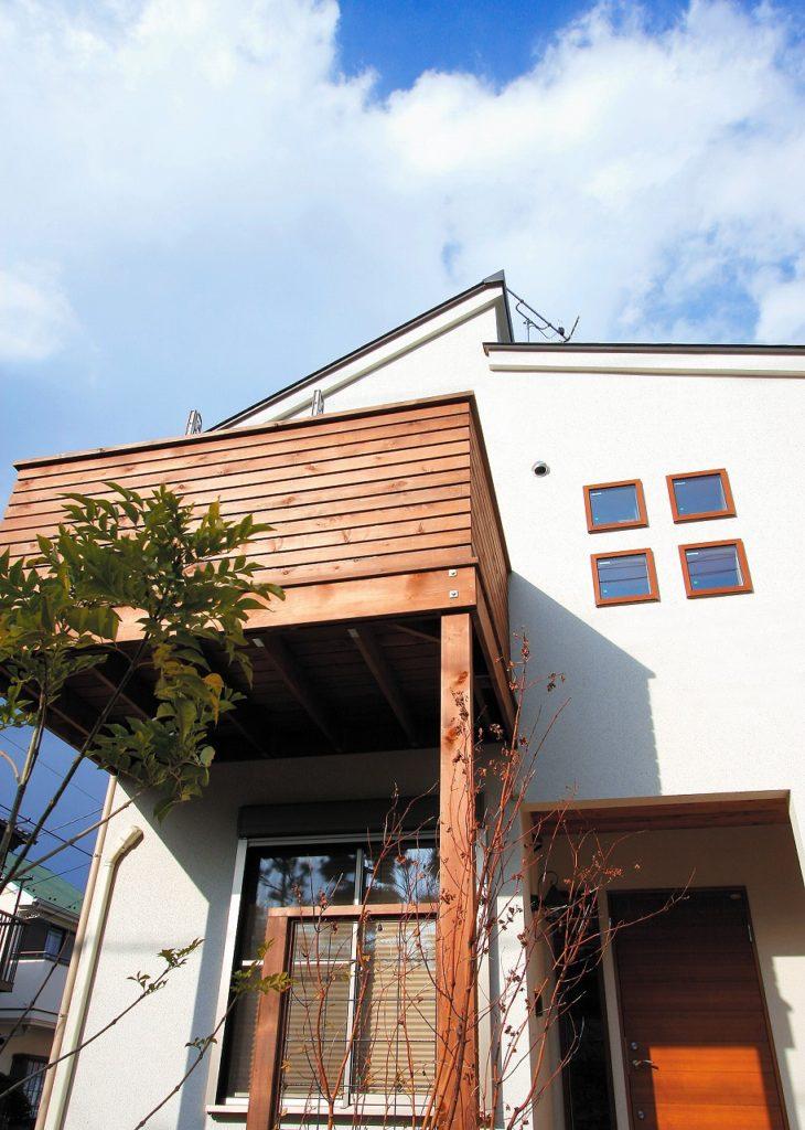2階リビングの新築住宅