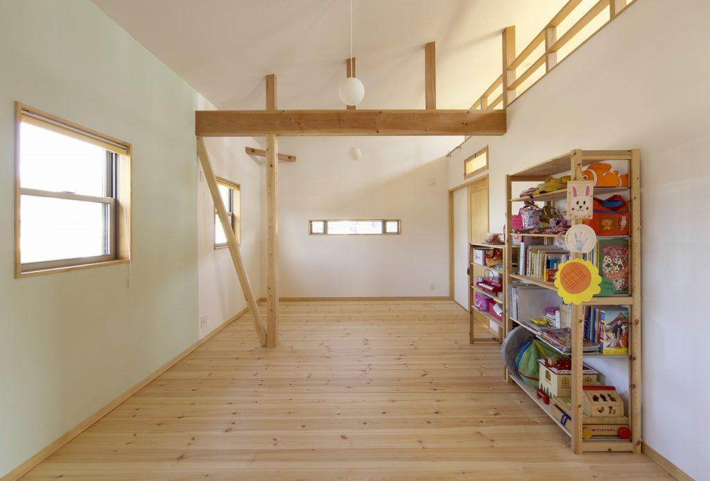 3つに分けられる子供室