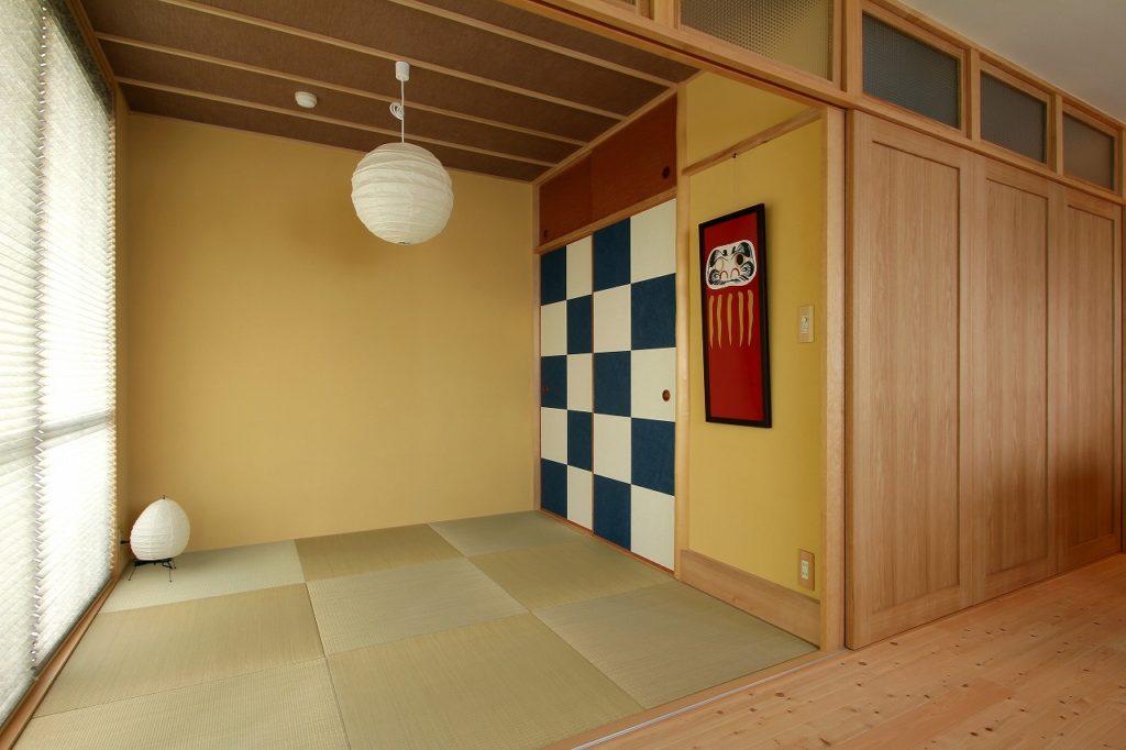 桂離宮・松琴亭の襖模様をイメージ