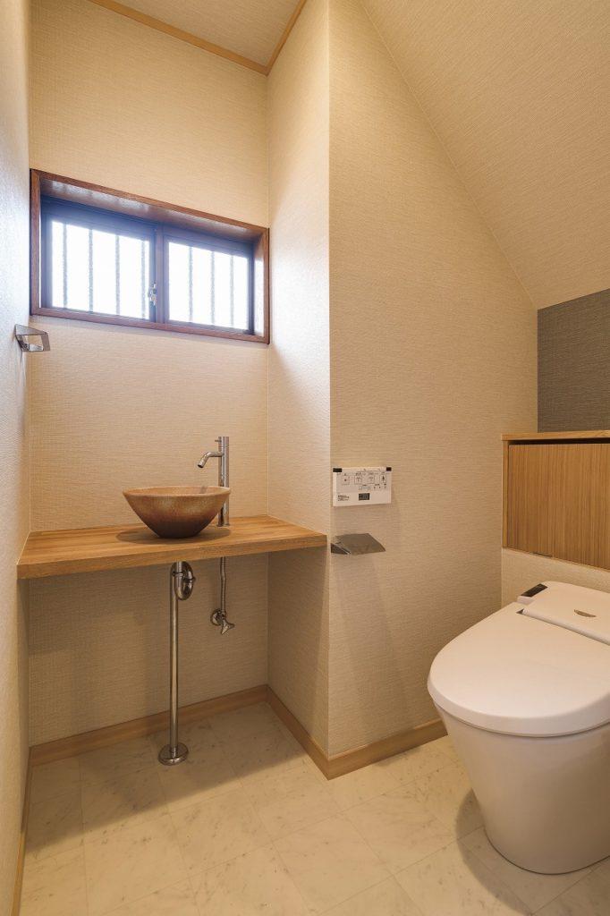 広めにトイレ空間を確保
