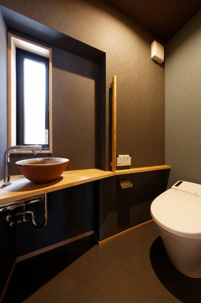バリアフリー計画のトイレ