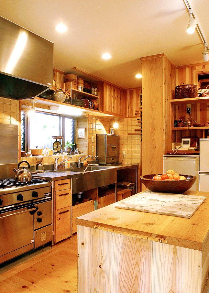 機能性+楽しさを演出するキッチンセット