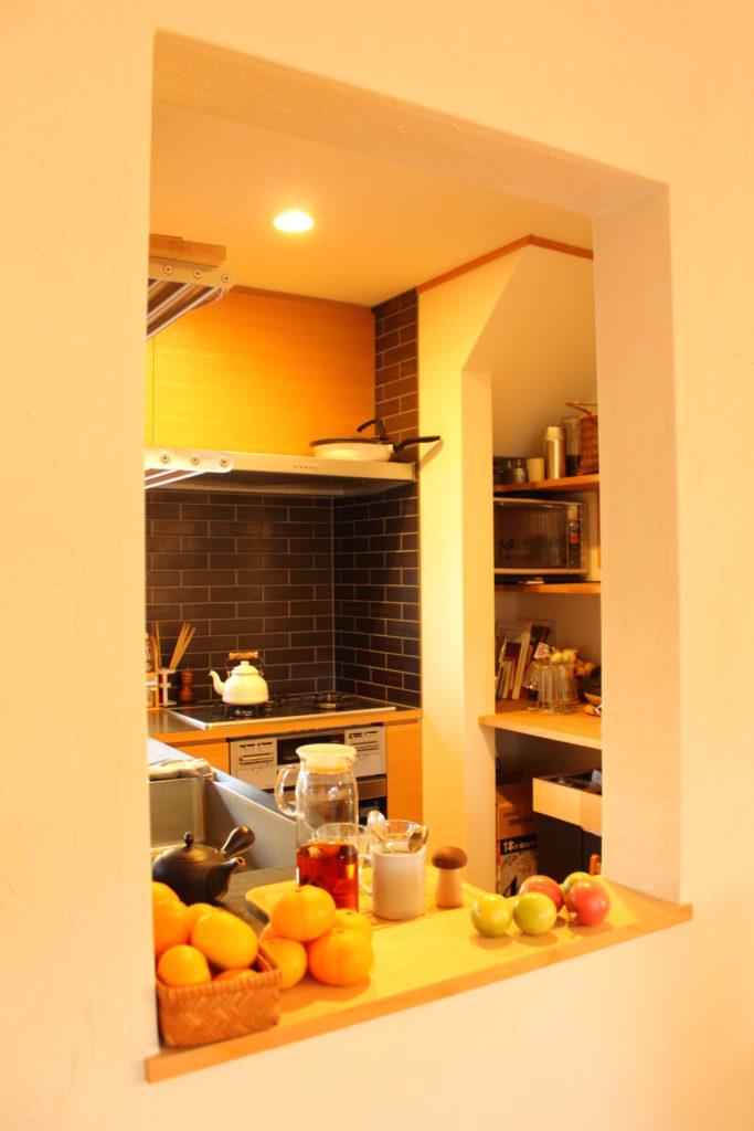 リビングとキッチン