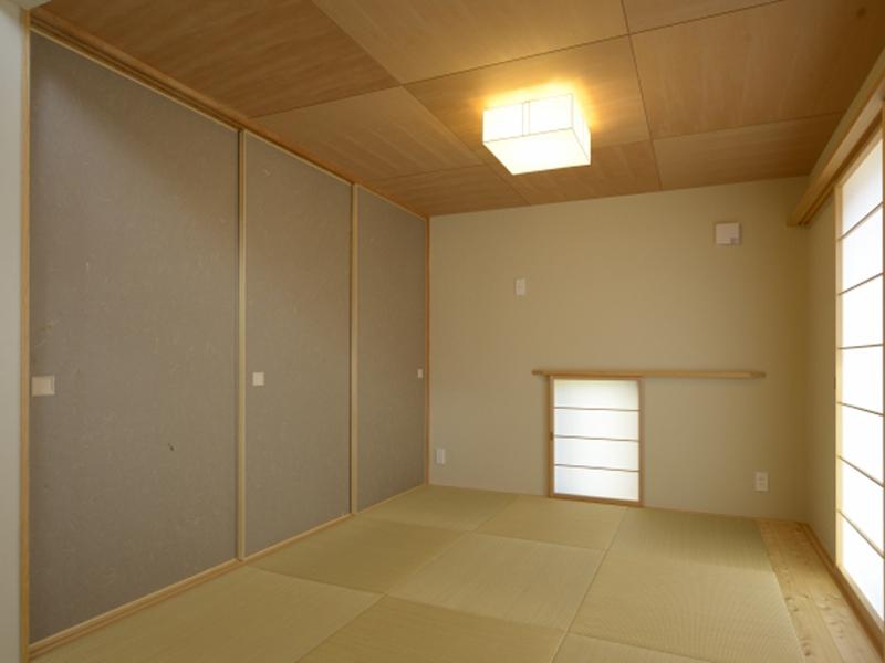 柾目の天井