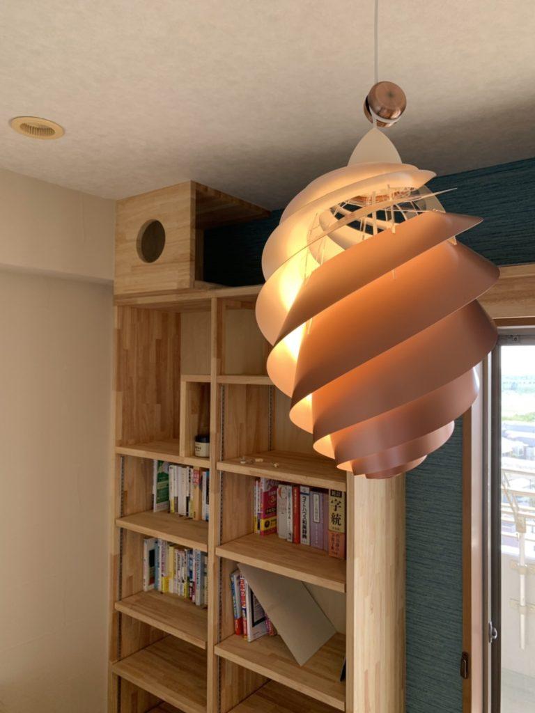 本棚はキャットタワー