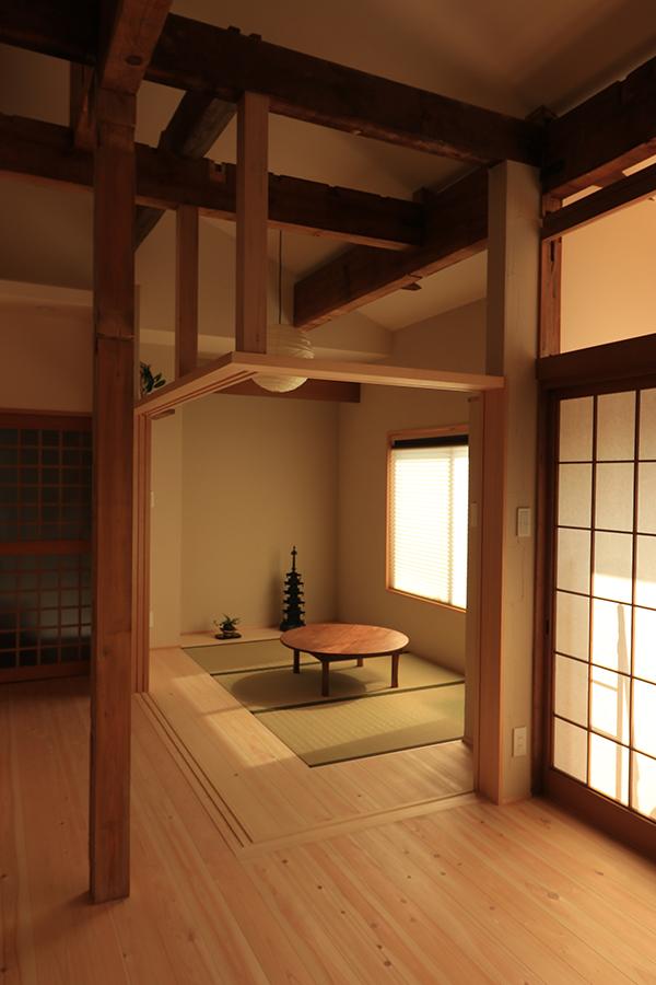 バリアフリーな和室空間