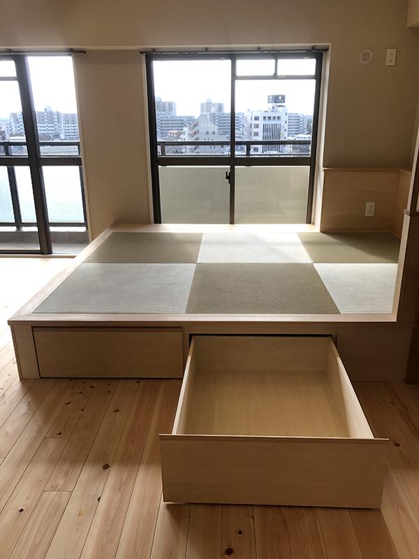 多目的用途の畳コーナー