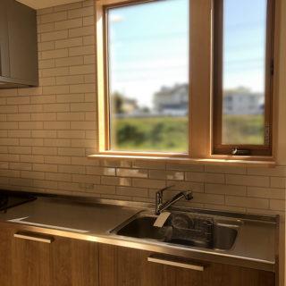 眺めのいいキッチン
