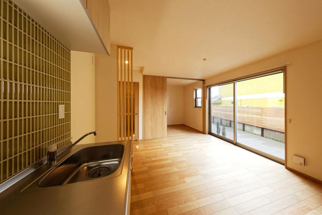 厚木賃貸アパート内装 温かみのある内装