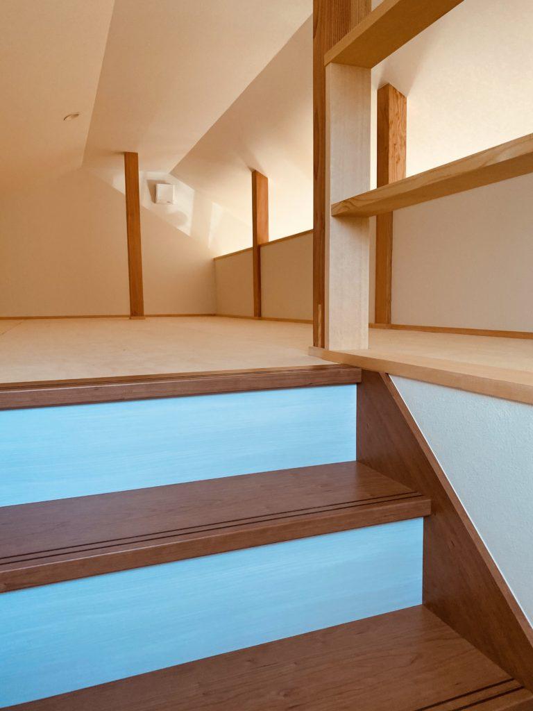 死蔵にならないロフト階段