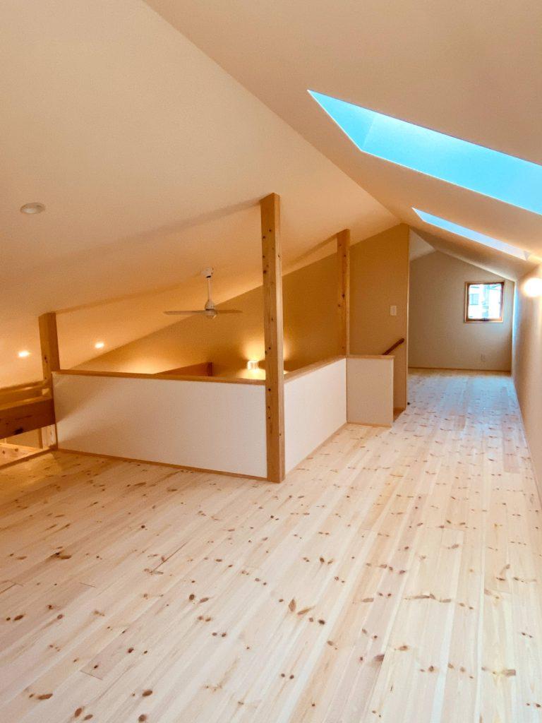 豊かな空間 平屋のロフト