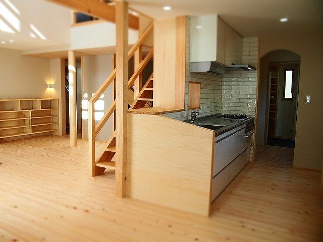程よく見えるキッチン