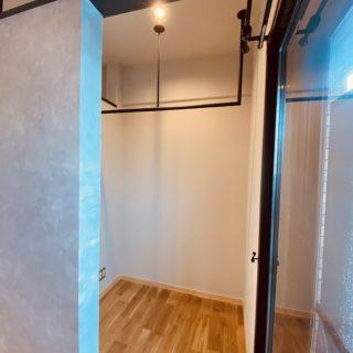 便利なマンションの物干しスペース