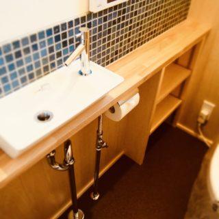 機能的でルックスの良いトイレ計画