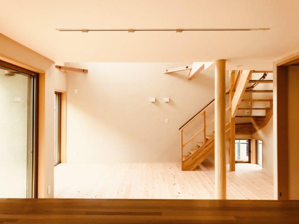 高低差のある天井